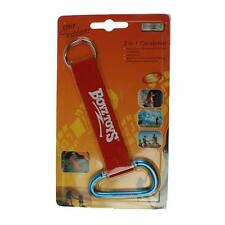 Boyz Toys RY206 Gone Outdoors 2 in 1 Aluminium Carabiner Keyring Set Camping Kit