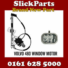 VOLVO 480 WINDOW REGULATOR AND MOTOR COMPLETE (2PIN) *NEW*