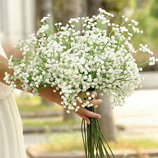 1 X Gypsophila Floral Artificial Fake Silk Flower Plant Party Wedding Decor HS