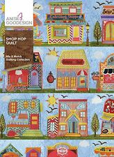 Anita Goodesign Embroidery Designs Shop Hop Quilt Brand New!