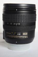 Nikon AFs 18-70mm ED G lentille pour Nikon D40 D40X D60 D7000 D5200 D3100 D3200 D3000