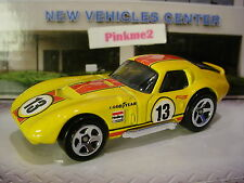 2017 Hot Wheels SHELBY COBRA DAYTONA☆Yellow;5sp;13☆Loose☆Multi Pack Exclusive?