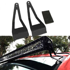 "For 99-2015 F250/F350 52"" Curved Straight LED Light Bar Mounting Bracket Holder"