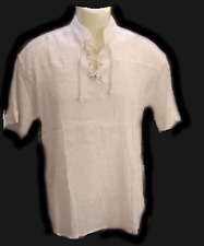 BNWT Pirate shirt,white color,s/s..Size L