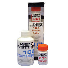 West System 104 Junior Pack Epoxy Resin Repair Kit. Ideal for small boat repairs