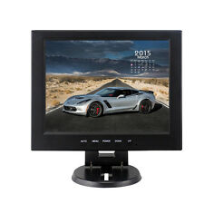 "NEW 10"" Inch TFT LCD CCTV Monitor PC TV Screen RCA/VGA/BNC/HDMI Video Security S"
