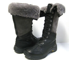 Ugg Adirondack Women Tall Boots Black US 8.5 / UK 7 / EU39.5