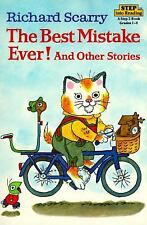 Richard Scarry's The Best Mistake Ever! and Other Stories Step into Reading - Sc