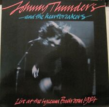 JOHNNY THUNDERS +HEARTBREAKERS Live Lyceum ballroom 1984 LP France PUNK oop L@@K