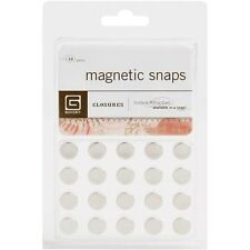 "Basic Grey Magnetic Snaps .375"" - 368828"