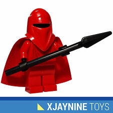 GENUINE LEGO STAR WARS Emperor's Royal Red Guard Minifig + Force Pike Spear NEW