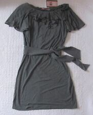 New with tags Juicy Couture Womens Heather Prestige Ruffle Dress SizeM $228