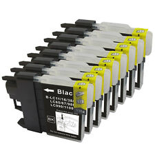 8PK LC61BK Black Ink Cartridge Brother MFC-490CW MFC-495CW MFC-J615W MFC-J630W
