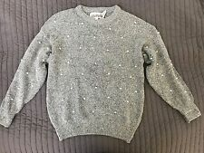 The Import Workshop Grey Sweater Silk Nylon Angora Rabbit Hair Korea Size Small