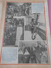 Saxophone fabriqué dans un tronc d'abre Auguste Knauer Print 1934