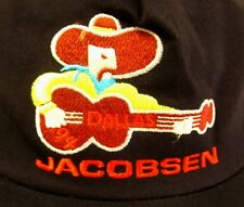 JACOBSEN baseball hat Dallas country cowboy 1994 western snapback guitar cap