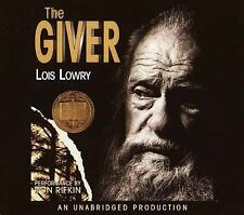 The Giver !!! (Audio CD – Unabridged) by Lois Lowry.