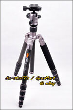 MeFoto RoadTrip C1350Q1 Carbon Fiber Tripod Monopod Kit Ti * FAST SHIP