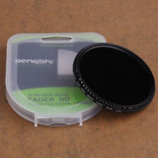 Pangshi 58mm Variable Neutral Density Fader Filter f Canon EOS 18-55mm ND2-ND400