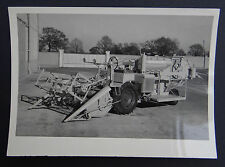 Photo ancienne BRAUD moissonneuse batteuse A2080 tractor tracteur Traktor 2