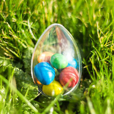 1x Egg Shaped Fillable Container (60mm) Wedding Favours Easter Decoration Xmas