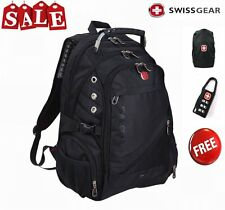 "15"" Original Waterproof Swiss Gear Men Travel Bags Macbook laptop hike backpack"