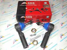 Grease Fittings Premium Quality 2 NEW Front Outer Tie Rod Ends ES3238