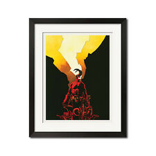 Hellboy Urban Comic Art Poster Print 0647