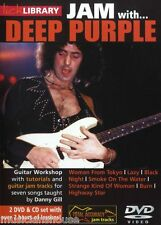 LICK LIBRARY Learn to Play JAM WITH DEEP PURPLE Woman from Tokyo Lazy GUITAR DVD
