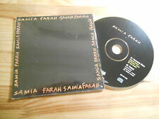 CD Pop Samia Farah - Homesick Blues (2 Song) Promo EFA ON U SOUND cb