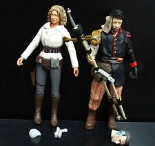 lot 2 DOCTOR WHO  RIVER SONG UNCLE action figure #CF2