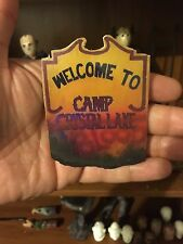 """Friday the 13th Jason voorhees handmade Camp Blood  sign For 7"""" - 1/6 Scale"""