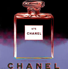 Chanel Ads 1985 by Andy Warhol A1+ Canvas Print