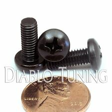 "#10-32 x 1/2"" - Qty 10 - Network Server or DJ Pro Audio Rack Rail Mount Screws"