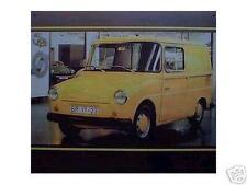 Altes Blechschild Oldtimer Fridolin VW Bus Bully gebraucht used