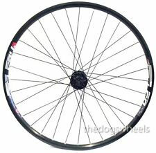"27.5"" MTB Front Wheel 20mm Bolt Through Formula Hub Disc Brake Mach 1 24mm Rim"
