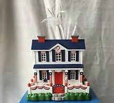 2003 Avon Patriotic Lighted Fiber Optic House 4th July