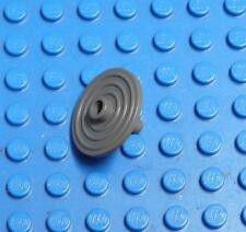 LEGO Minifig, Shield Round with Stud Dark Gray x1PC