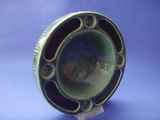 ADVENTSKRANZ 60/70er JASBA Keramik Steckring grün für 4  KERZEN