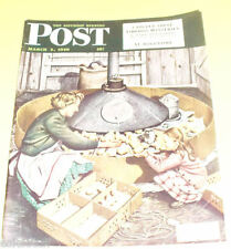 Post Magazine 1949 Steven Dohanes Chicks cover Nice Picture! See!