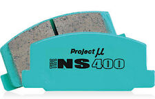 SALE - PROJECT Mu Pmu BRAKE PADS NS400 F206 fits Nissan 350Z /Z33 3.5L FRONT