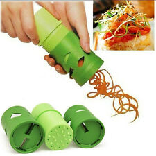 Kitchen Tools Vegetable Fruit Shred Twister Cutter Spiral Slicer Peeler Garnish