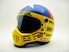 JOHNNY RUTHERFORD SIMPSON VINTAGE Replica HELMET Racing Racer INDY 500 Nascar