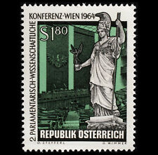 JC002Y Austrian stamps Athena goddess engraved version of the new foreign stamps