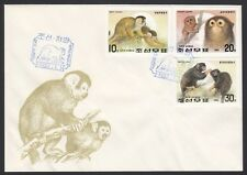 KOREA, 1992. First Day New Year Monkeys Imperf