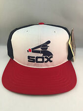 WHITE SOX WHITE/RED/BLUE RETRO THE ORIGINAL SNAPBACK CAP BY AMERICAN NEEDLE