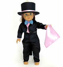 """AFW MAGICIAN WITH RABBIT IN HAT OUTFIT for 18"""" Dolls & American Girl NEW"""