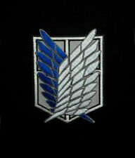 """Attack on Titan - The Survey Corps Badge Wings of Freedom Patch 3.55"""""""