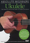 Learn To Play The UKULELE Absolute Beginners DVD Book LESSON TUTOR CHORDS SONGS