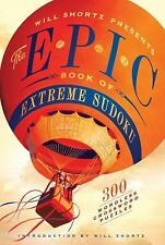 Epic Book of Extreme Sudoku : 300 Challenging Puzzles (2012, Paperback)